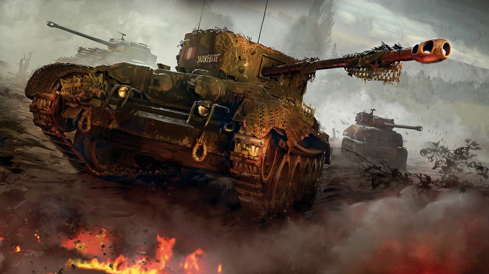 Preacher Writer Garth Ennis Will Write A New World of Tanks Comic Book