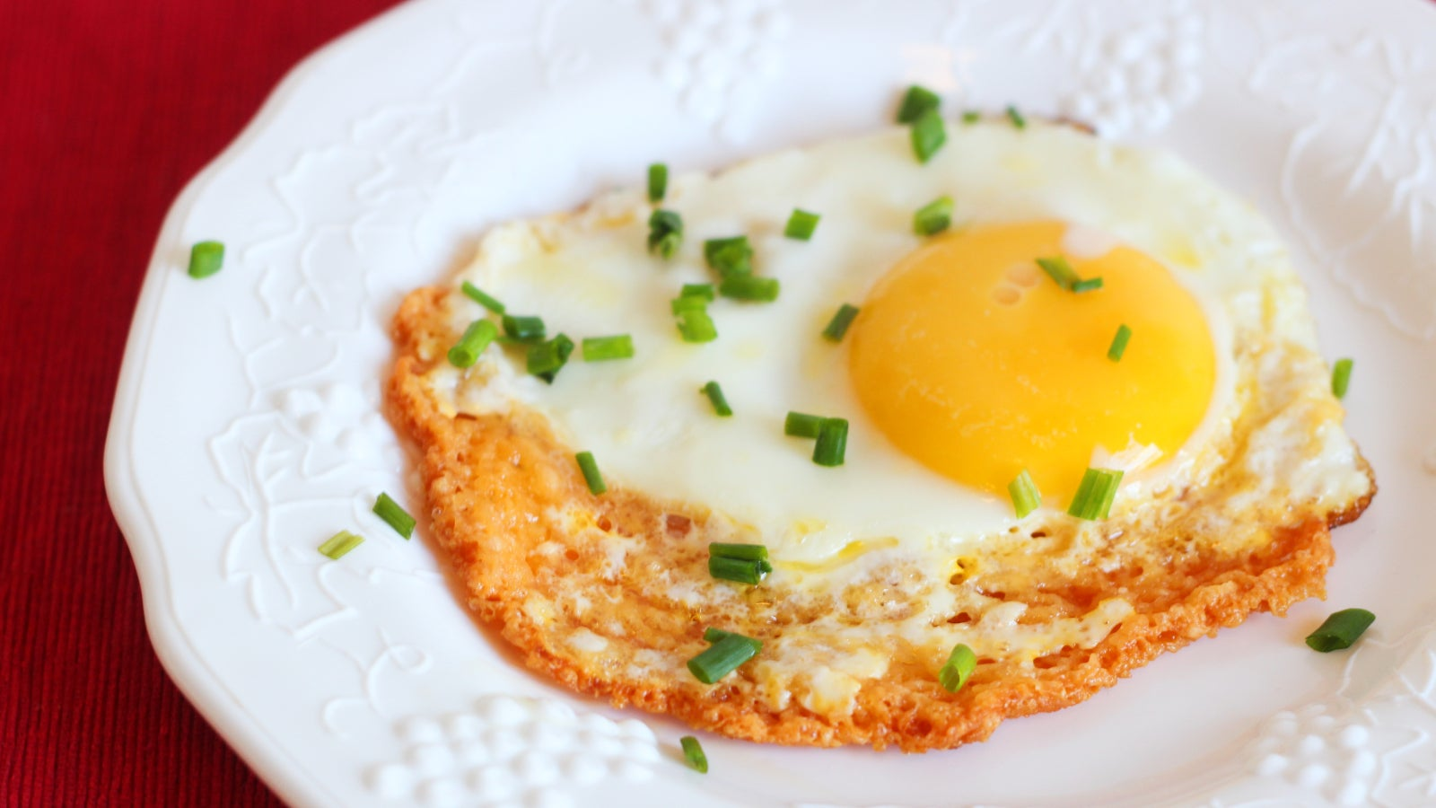 Behold The Cheesy, Crispy Glory Of The Frico Fried Egg