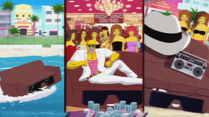 Latest Simpsons Couch Gag Is A Homage To 80s Action Shows