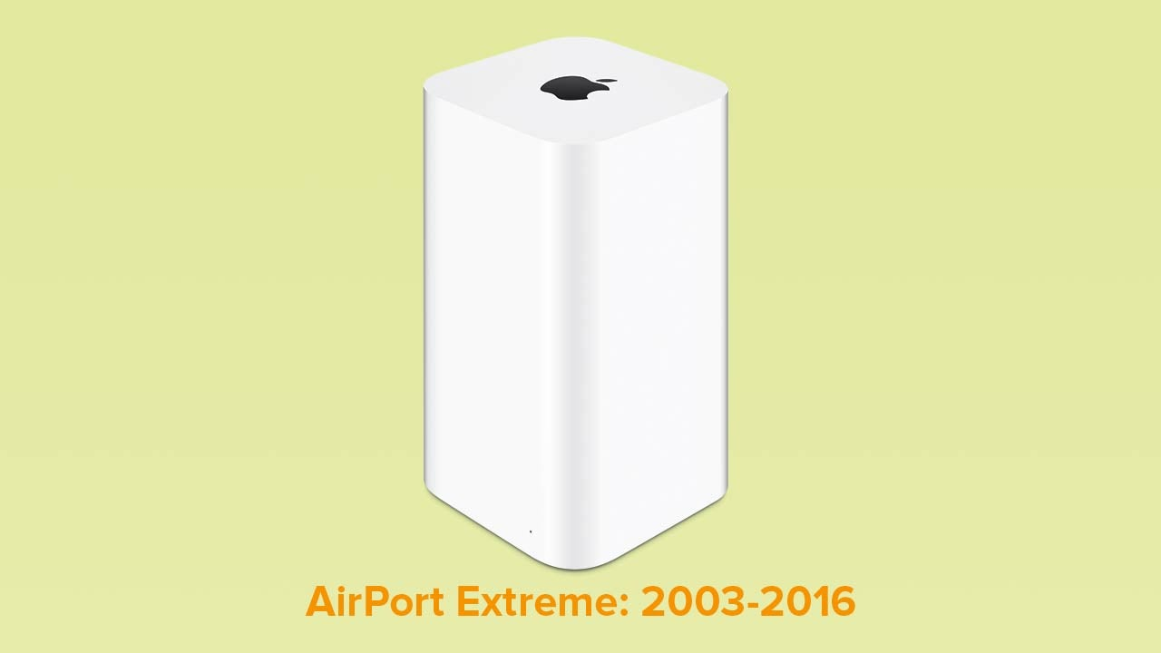 RIP Apple Wireless Routers: We Hardly Knew Thee