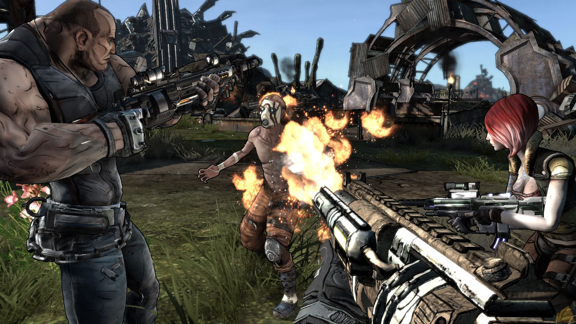 That Time Team Fortress 2 And Borderlands Changed Art Styles Mid-Development