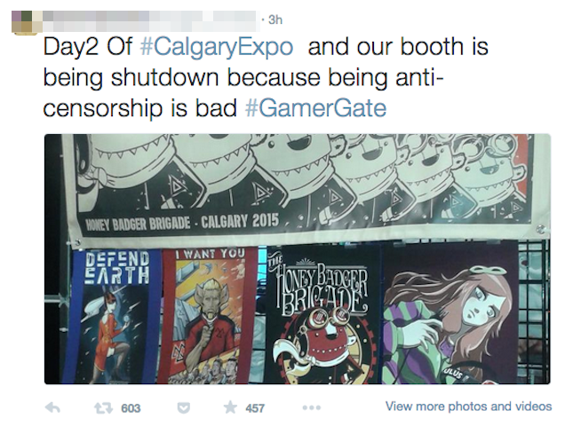 GamerGate Booth Kicked Out Of Canadian Comic Expo