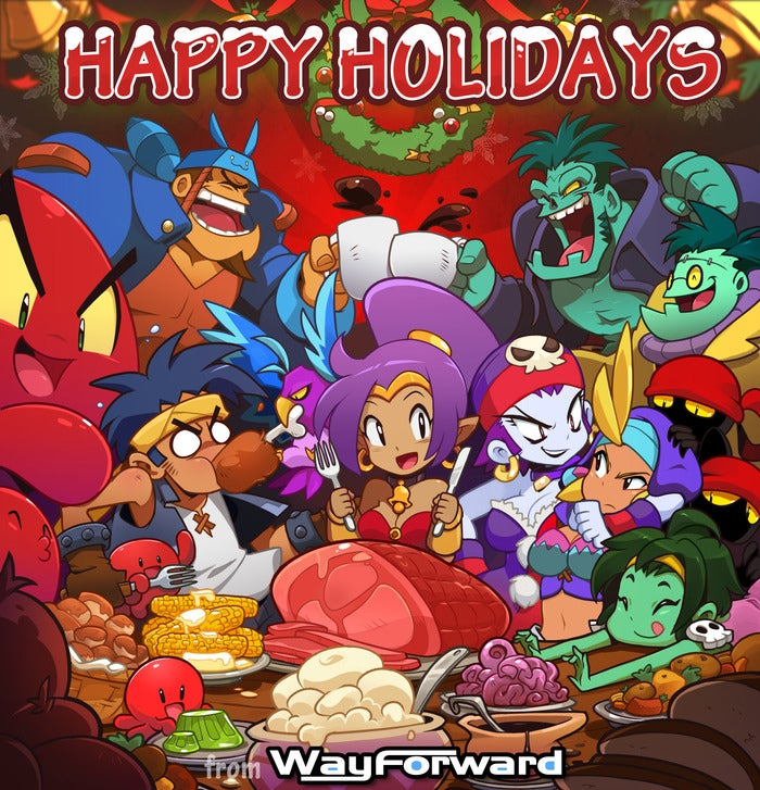 Holiday Greetings from 7 Game Developers