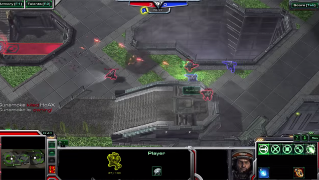 StarCraft II, Turned Into an Arena Shooter