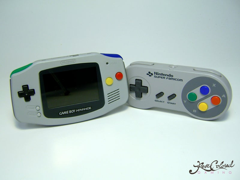 The SNES And The Game Boy Advance Are Having A Baby