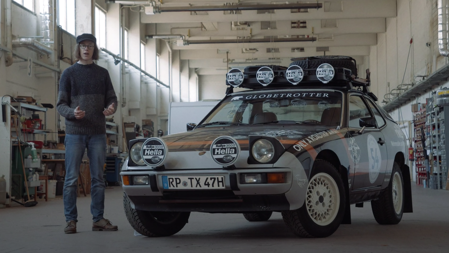 'Overland Rally Car' Is A Great Twist On The 'Safari Everything' Trend