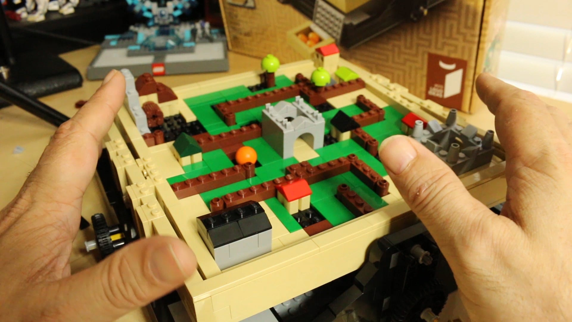 Toy Time Plays With LEGO's Take On A Gaming Classic