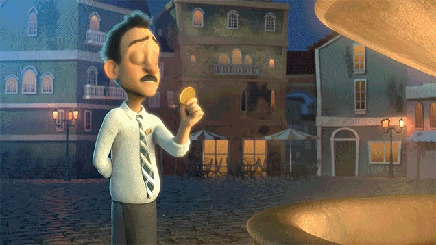 Short Animation Imagines What Happens After You Throw a Coin into a Fountain and Make a Wish