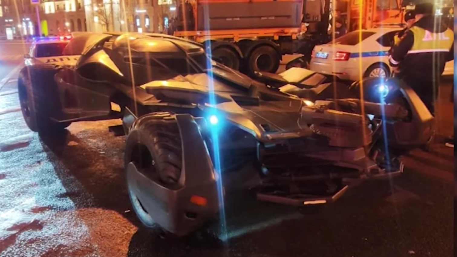 Moscow's Batman Isn't Above The Law