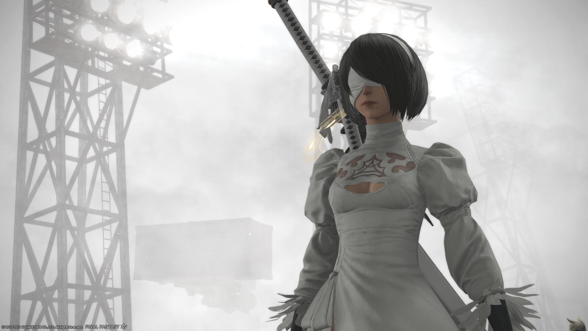 Final Fantasy XIV's Nier Automata Raid Is Spectacular