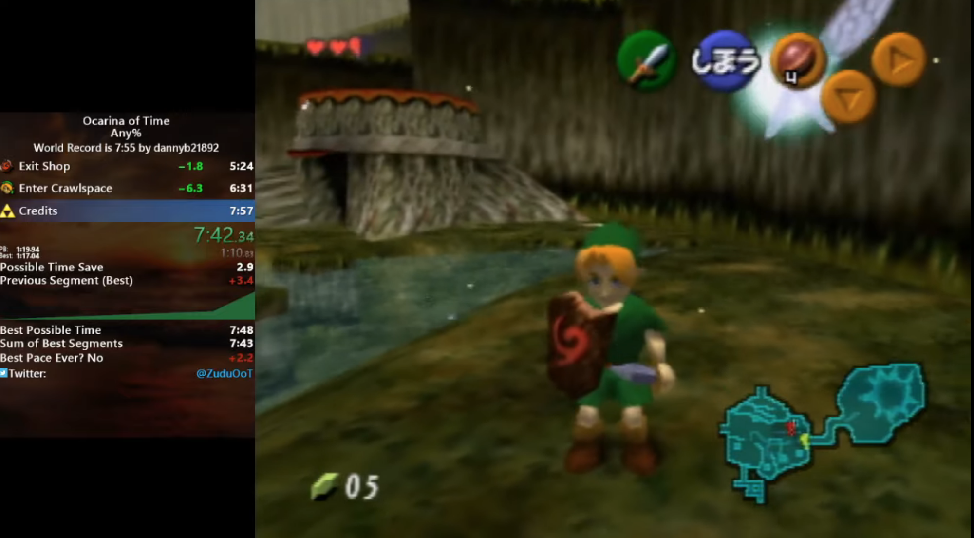 How Speedrunners Can Now Beat Ocarina Of Time In Under Eight Minutes