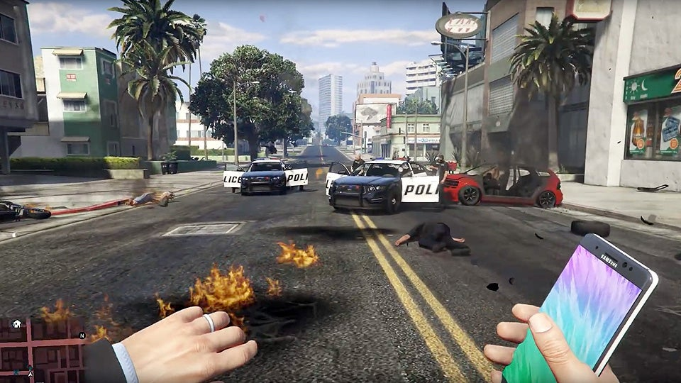 YouTube Blocks Samsung's Takedown Of GTA V Note 7 Bomb Video