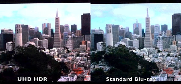 Check Out the Difference Between 4K HDR Ultra HD and Blu-Ray