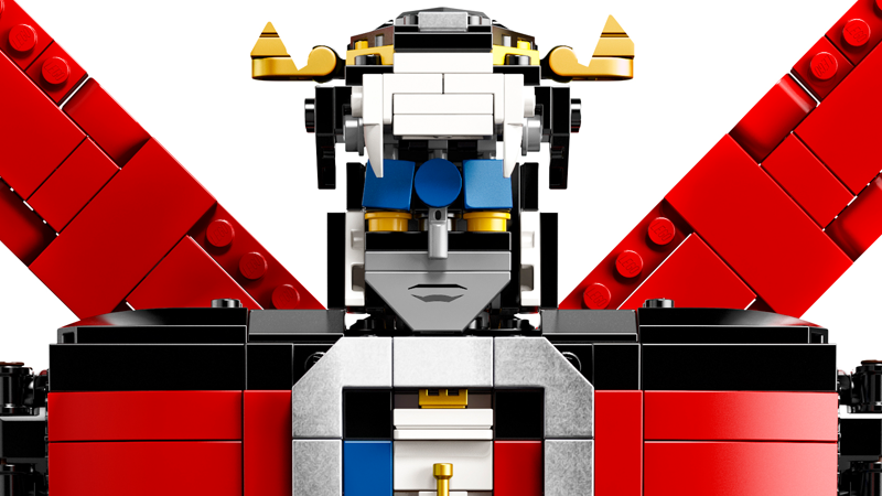 LEGO'sVoltronSet Is The Giant Brick Robot Of Our Dreams