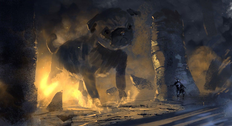 Demonic Puppy Needs To Be A Boss In Dark Souls III