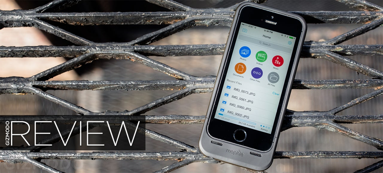 Mophie Space Pack Review: All the iPhone Storage You Need (Plus Bulk)