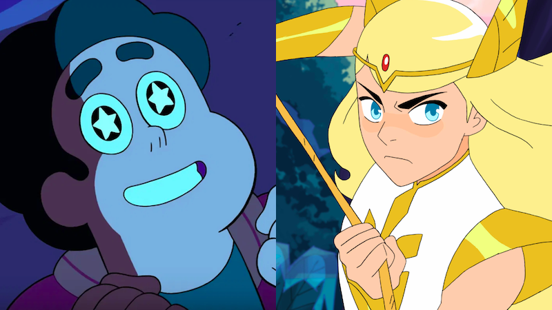 Steven Universe Paved The Way For She-Ra's Magical Queer Representation And More