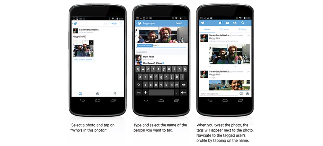 Twitter Now Lets You Tag People in Tweets Without Using Any Characters
