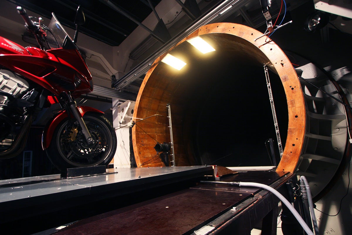 A Trip Inside a 70-Year-Old Wind Tunnel