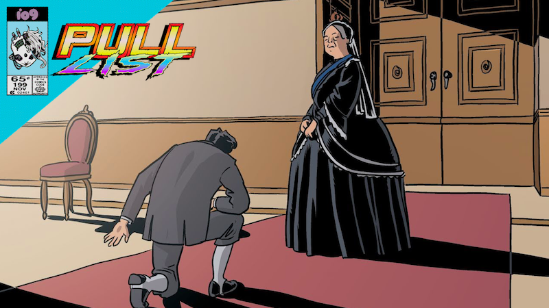 The Queen Of England Is An Occultist AndBlue Collar Workers Own Space In This Week's Best New Comics