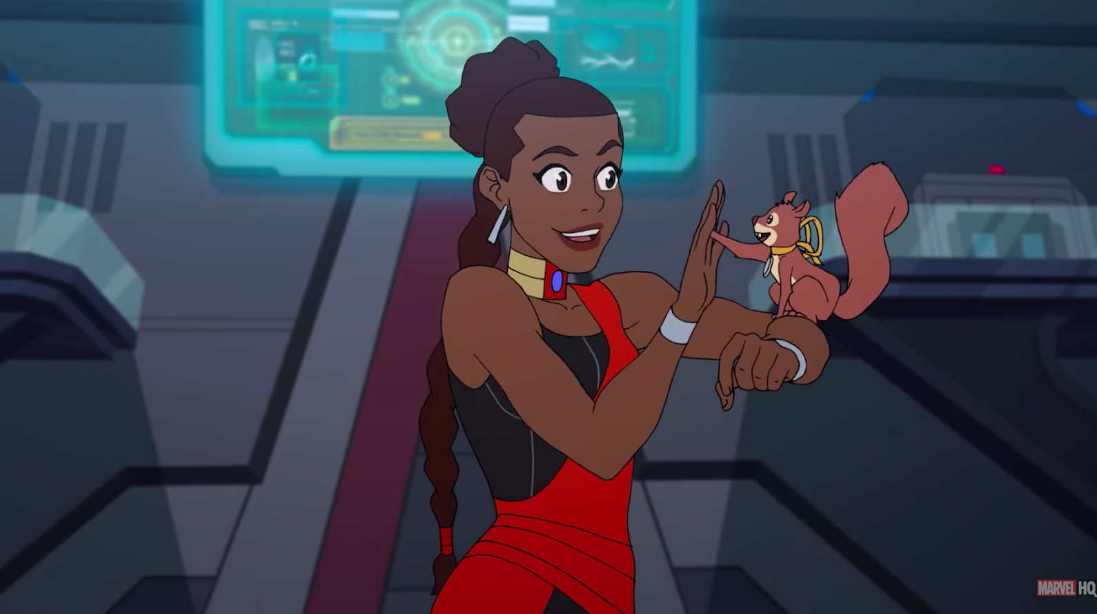 The Newest Marvel Rising Special Introduces Shuri To The Secret Warriors' Girl Gang