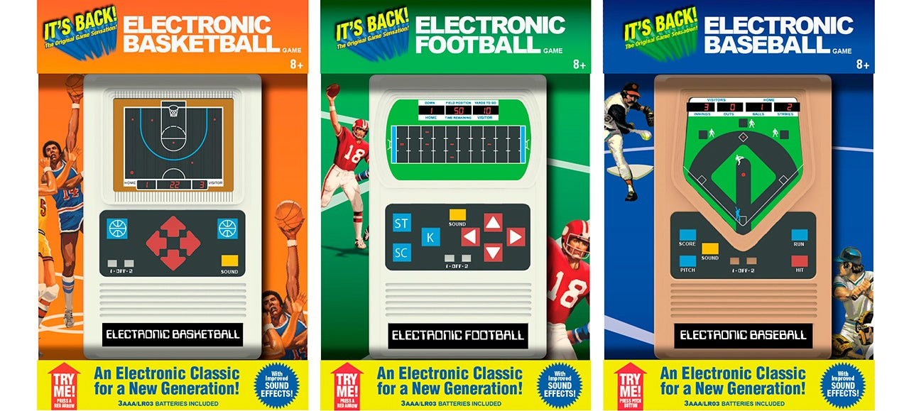 At One Time These LED Consoles Were the Cutting Edge of Handheld Gaming