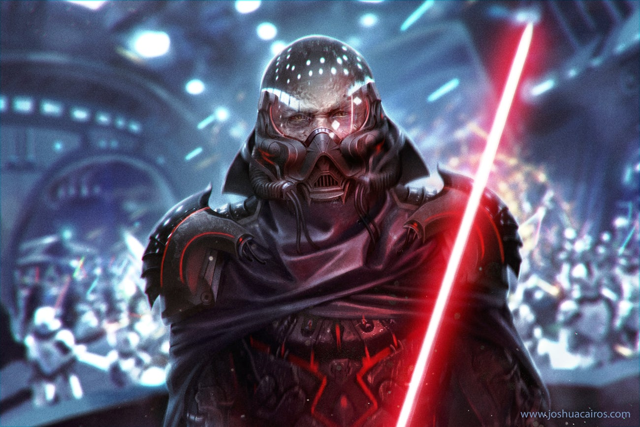 Redesigned Darth Vader Looks Just As Menacing