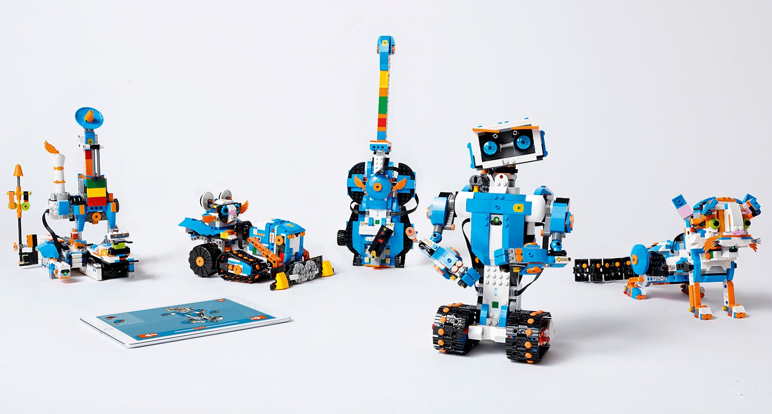 Building Crazy LEGO Robots Has Never Been Easier