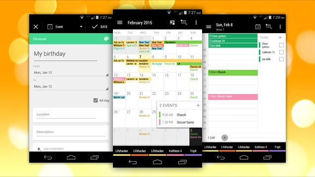 Business Calendar Gets a New Interface, Task Lists, and More Updates