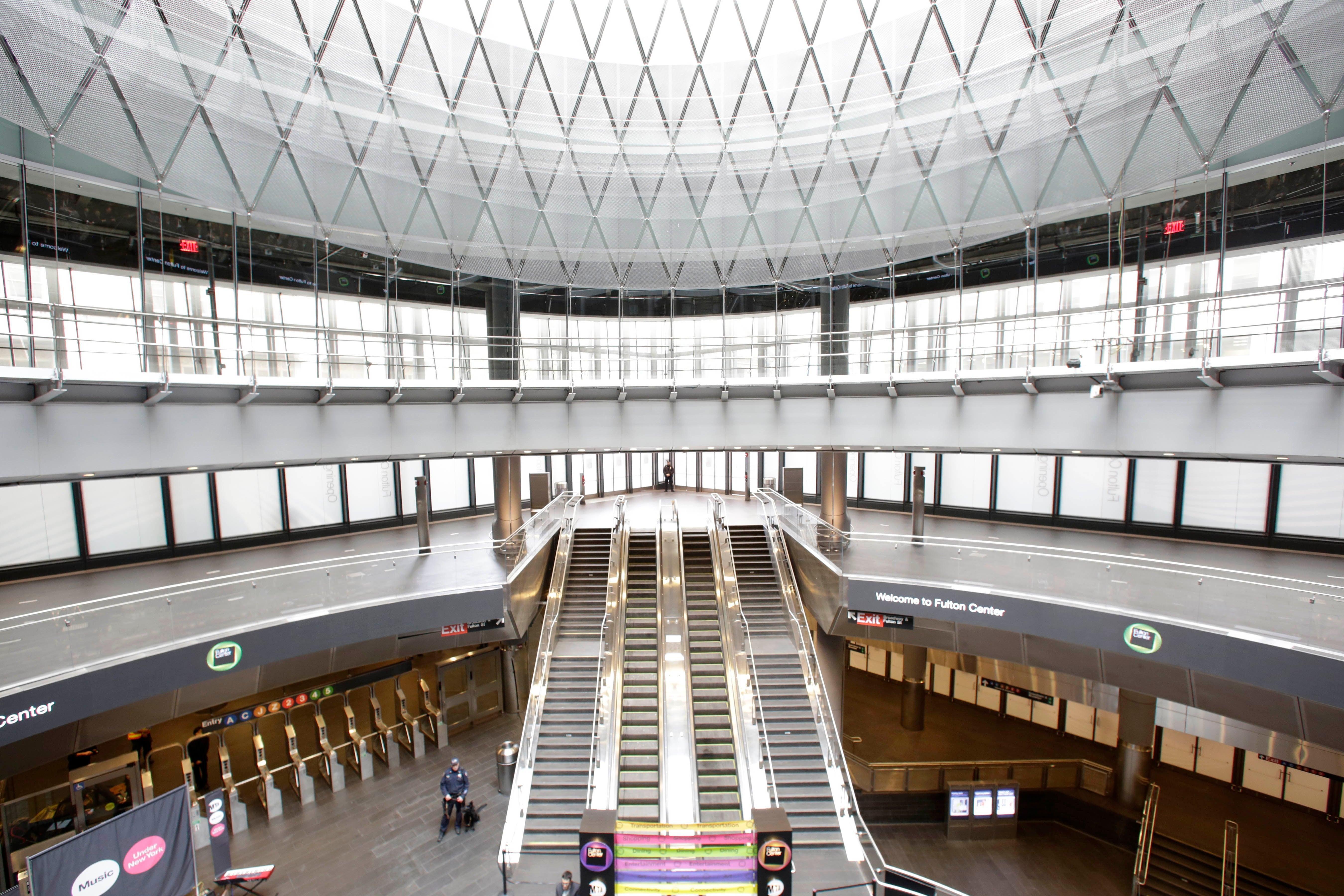Inside New York City's Dazzling New $US1.4 Billion Subway Station