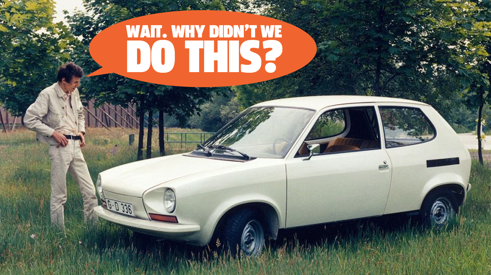 These New-Old Images Of The Most Amazing VW Prototype Hint At A Future That Wasn't