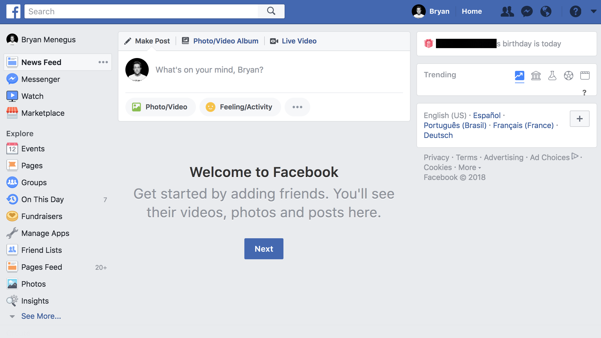 Facebook Wants To Overhaul Its News Feed – I Made Mine Empty Instead