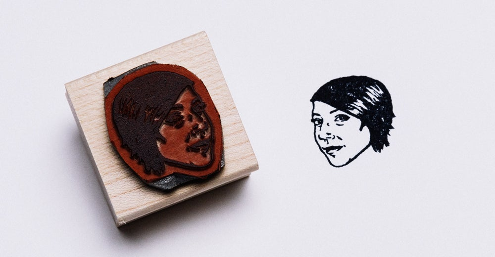Plaster Your Face All Over Important Paperwork With These Custom Stamps