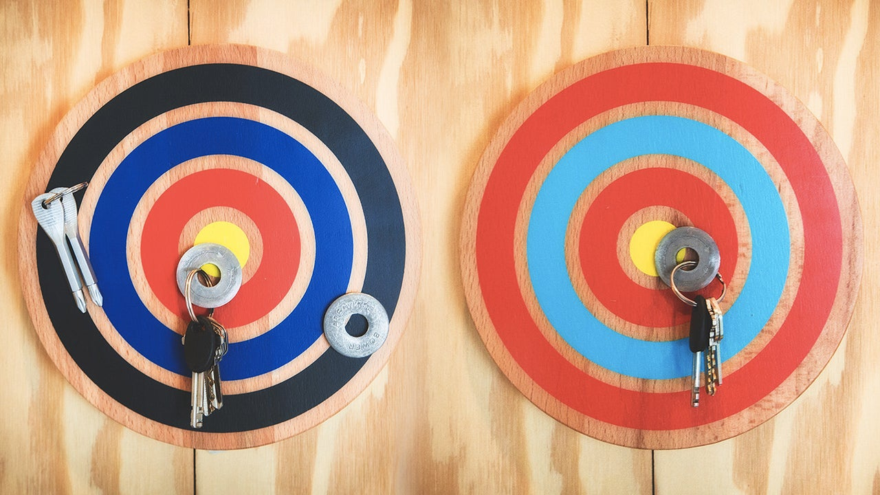 Hit This Magnetic Bullseye and You'll Never Misplace Your Keys Again
