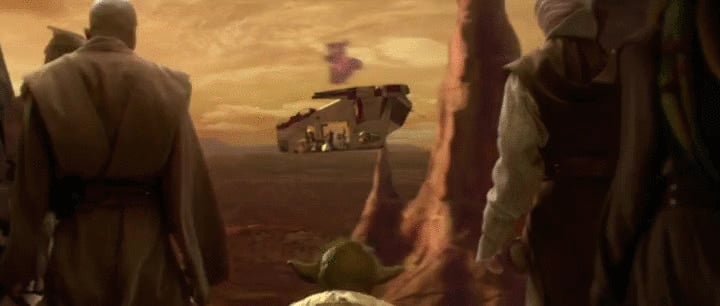 Ride Into the Danger Zone, Star Wars Style