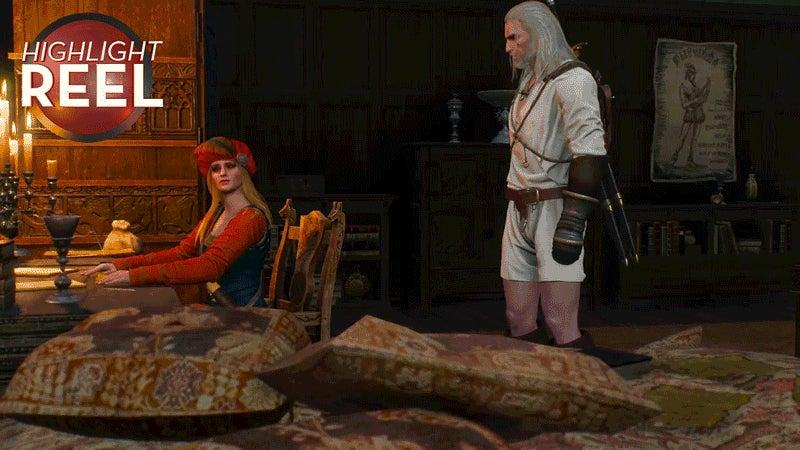 Geralt Slides Outta Her DMs
