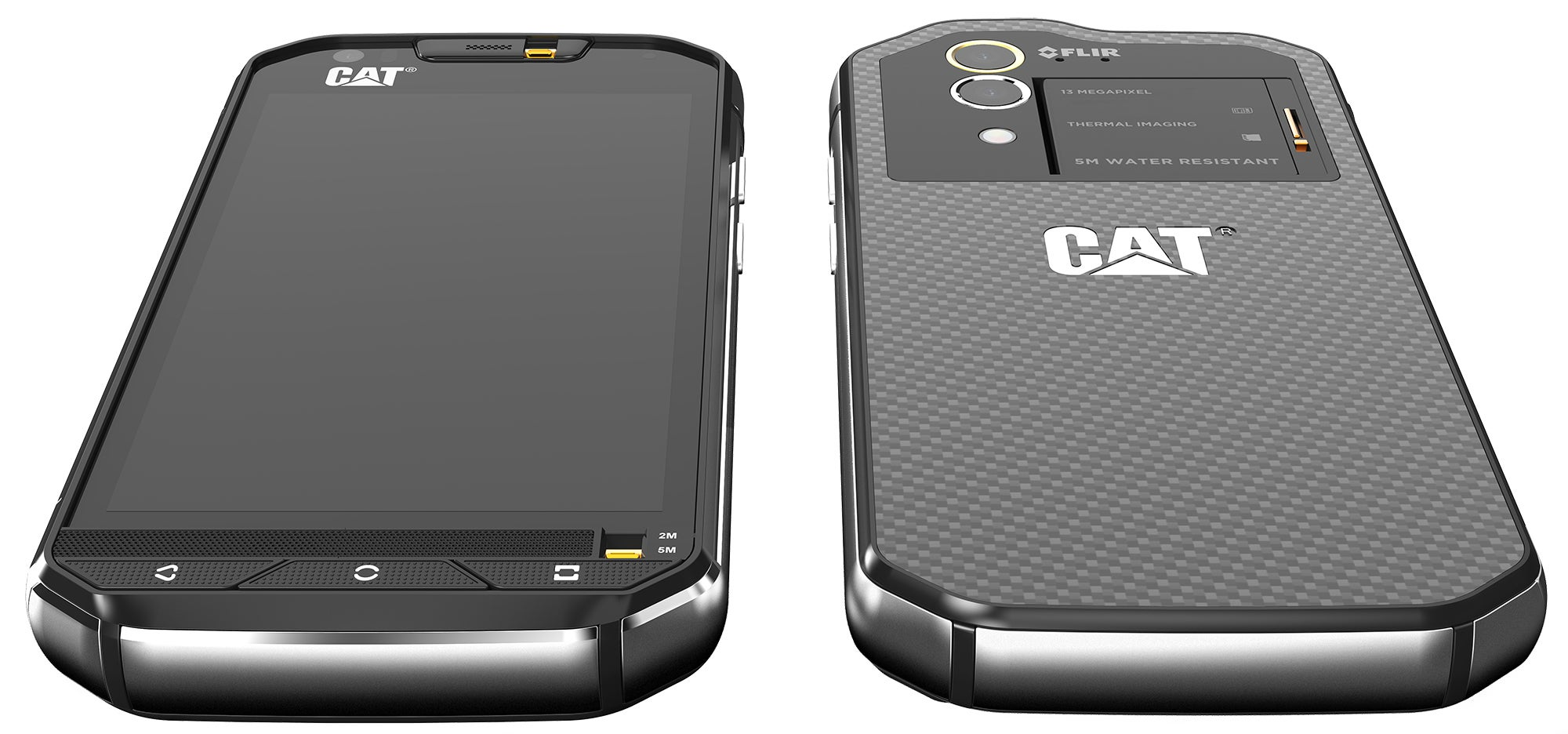 Caterpillar's New S60 Is the First Smartphone With FLIR Thermal Imaging Built Right In