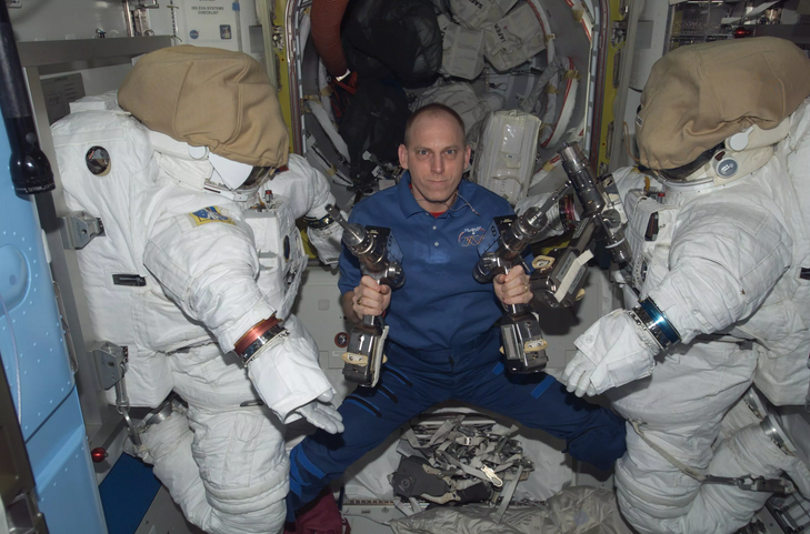 How NASA Deals With Odor Inside the International Space Station