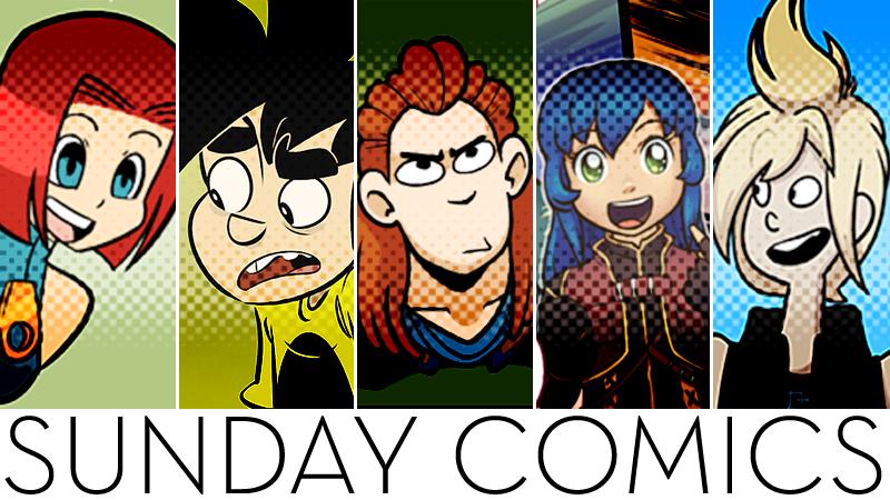 Sunday Comics: Stolen Nerd Badge