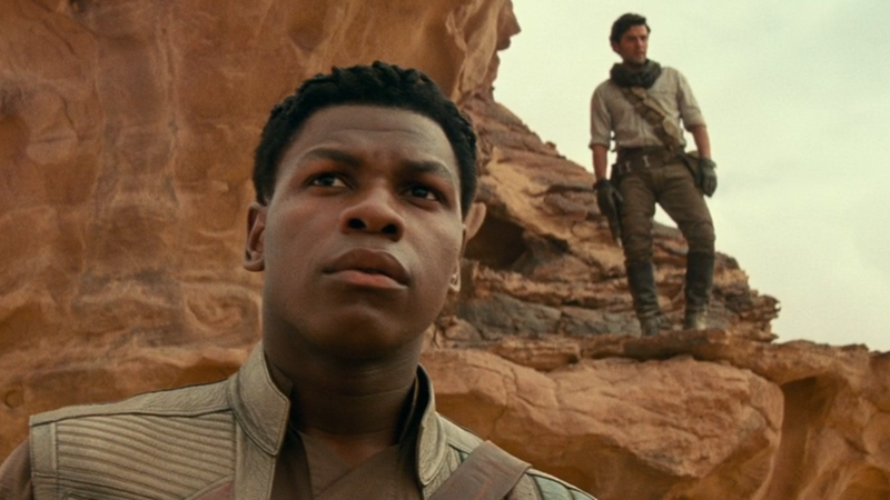 And Now, Here's John Boyega Freaking You Out With The Artistic Merging Of Himself With Oscar Isaac