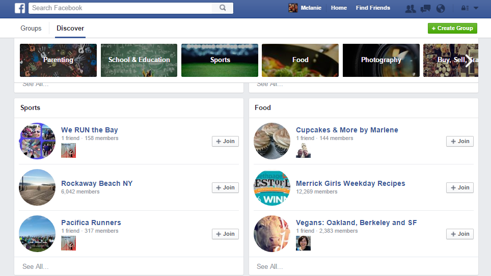 Find New Facebook Groups to Join with the New Discover Tool