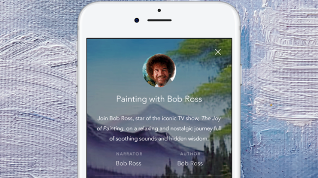 Let Bob Ross Beat Away Your Stress Like A Wet Brush