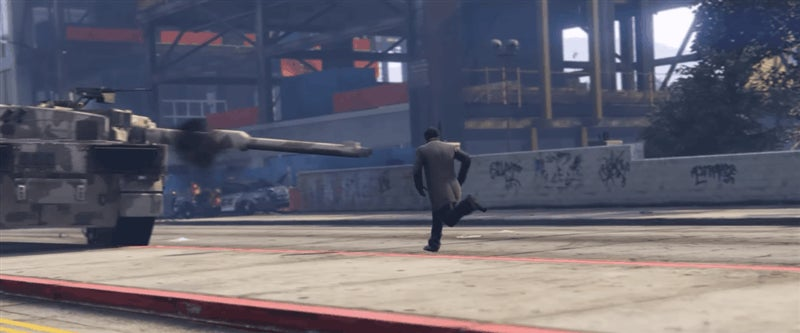 Tank Murder Is A Very Funny GTA V Video