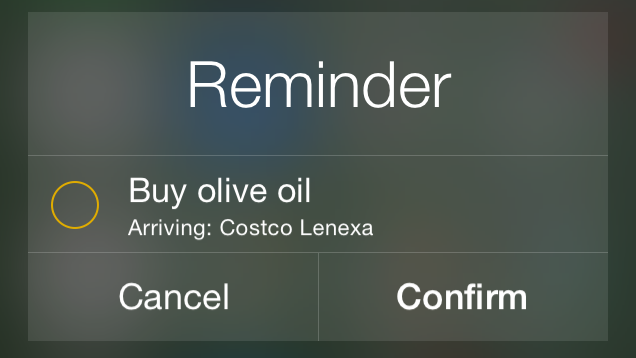 Tell Siri Where You Shop for Better Location Reminders