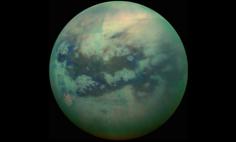 Peer Through the Smothering Haze of Titan to Admire Its Massive Seas of Dunes