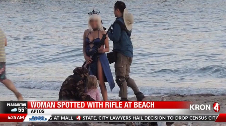 Cosplayer's Giant Rifle Prompts Sheriff's Warning