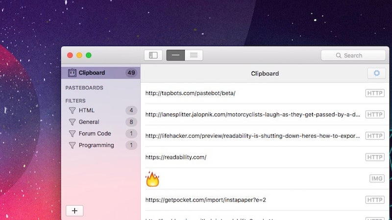 Pastebot Is A Versatile Clipboard Manager For Mac And It's Currently Free In Beta