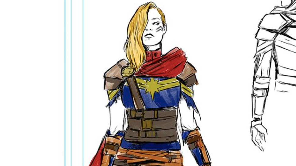 Captain Marvel's Getting A Badarse, Post-Apocalyptic New Look