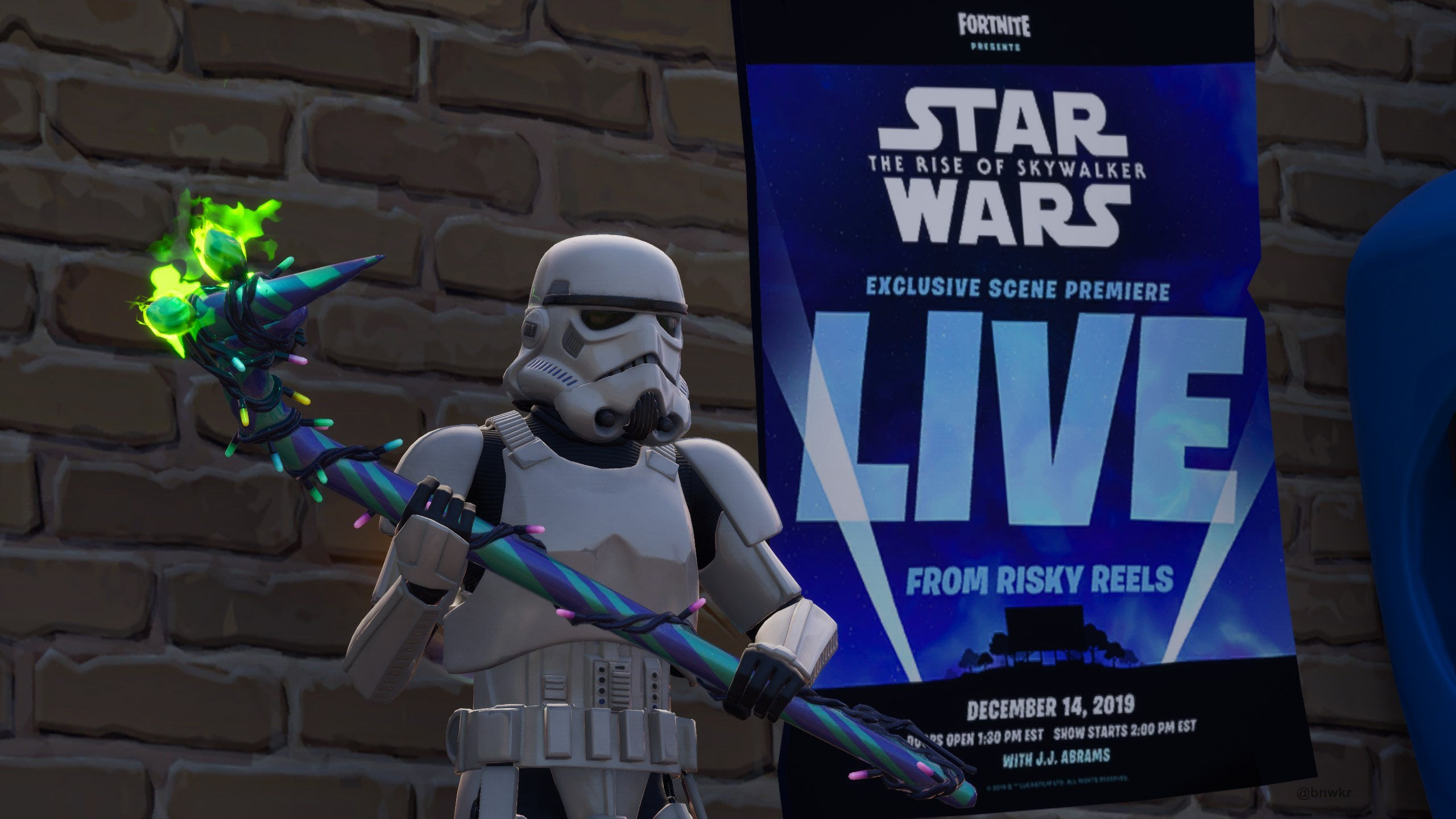 A New Scene From Star Wars: The Rise Of Skywalker Is Premiering Next Week At Fortnite's Drive-In Theatre