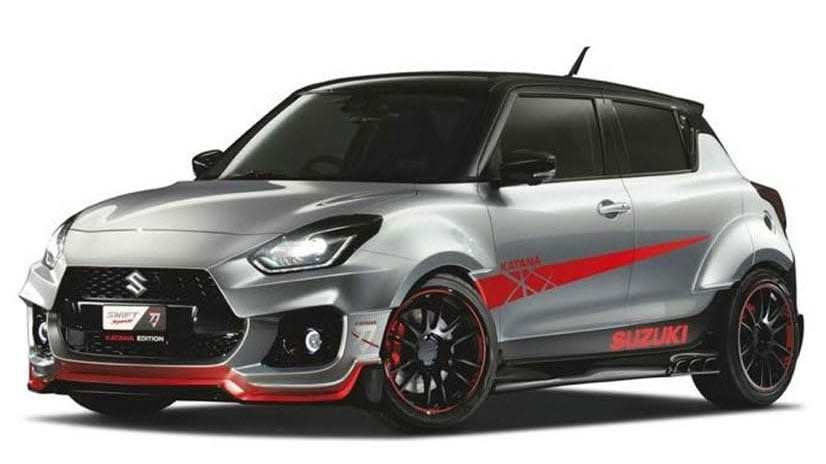 The Hot Motorcycle-Inspired Suzuki Swift Sport Katana Widebody Has Just One Big Problem